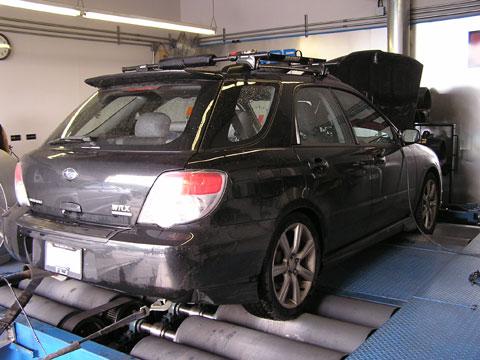 FLI ACPT Carbon Fiber Driveshaft Test on WRX Wagon