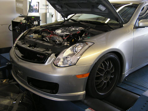 2004.5 Infinity G35 MT Beta Testing AccessTuner Pro by FLI or Fine Line Imports