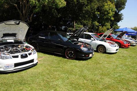 ine Line Imports at Subaru Bay Area Meet 2009 in Novato California BAM