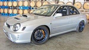Fine Line Imports or FLI 2002 Subaru WRX STI GDB RS, Vendor Class Winner
