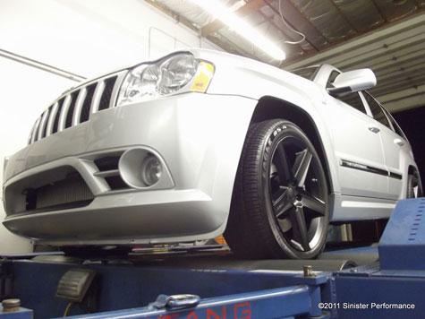 FLI or Fine Line Imports Tuned (CMR), Sinister Performance built, Jeep SRT8 turbocharged