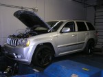 FLI or Fine Line Imports Tuned (CMR), Sinister Performance built, Jeep SRT8 turbocharged 553 wtq and 422 whp on 7.5 psi of boost with 91 Octane fuel.